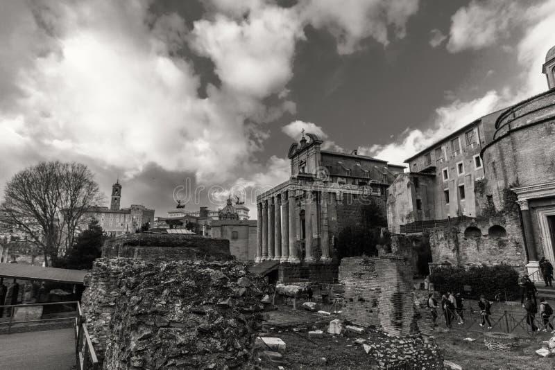Красивые фото старого Рима стоковое фото rf