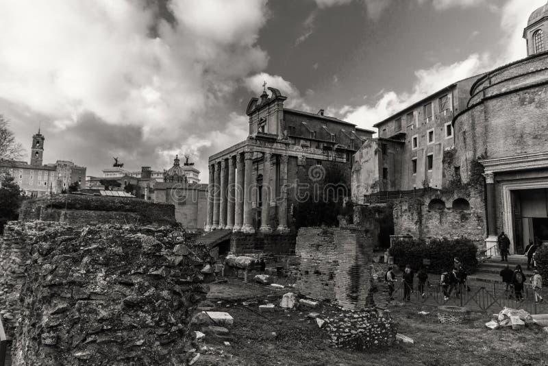 Красивые фото старого Рима стоковое фото