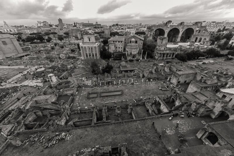 Красивые фото старого Рима стоковые изображения rf