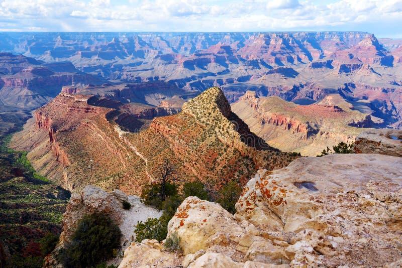Красивый ландшафт национального парка гранд-каньона, Аризоны стоковые изображения
