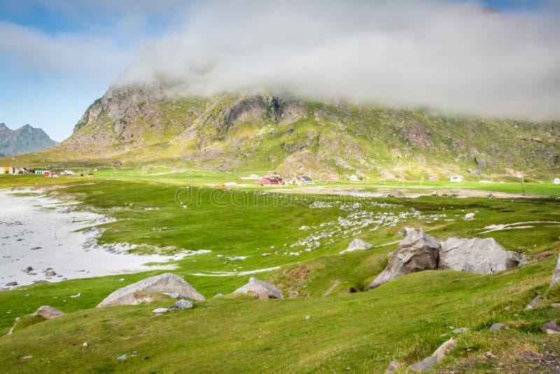 Download Красивый ландшафт Норвегии, Скандинавии Стоковое Изображение - изображение насчитывающей океан, пейзаж: 40580479
