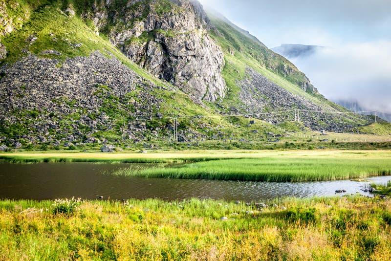 Download Красивый ландшафт Норвегии, Скандинавии Стоковое Фото - изображение насчитывающей океан, красивейшее: 40581174
