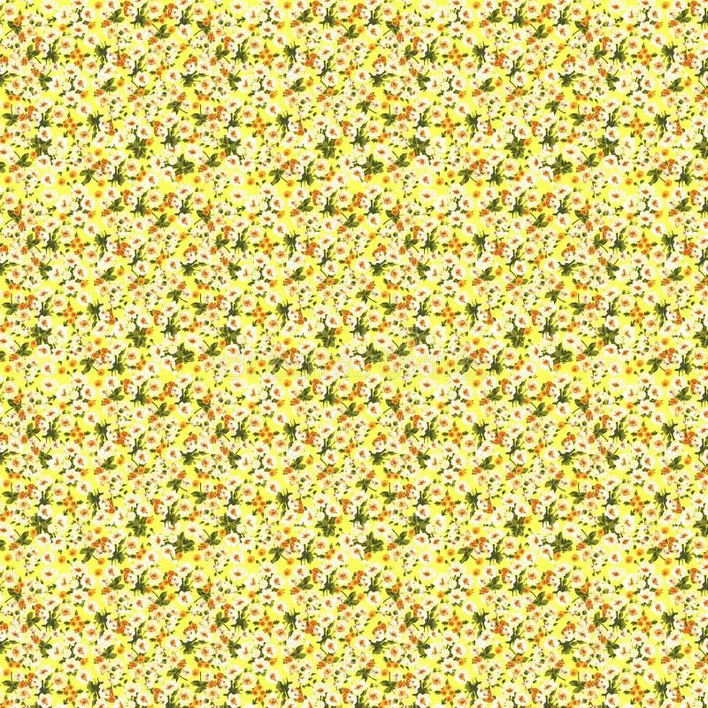 Красивый безшовный цветочный узор, иллюстрация вектора цветка Обои элегантности с freesia Декоративное красивое бесплатная иллюстрация