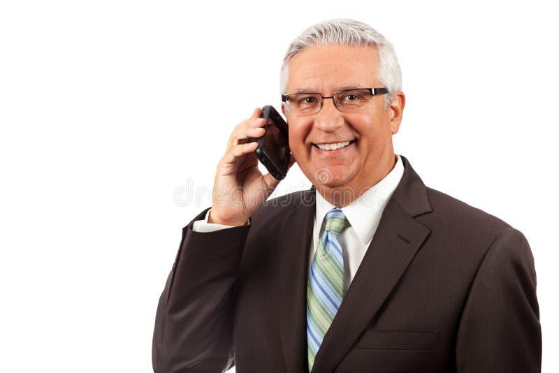 Красивый бизнесмен стоковые фотографии rf