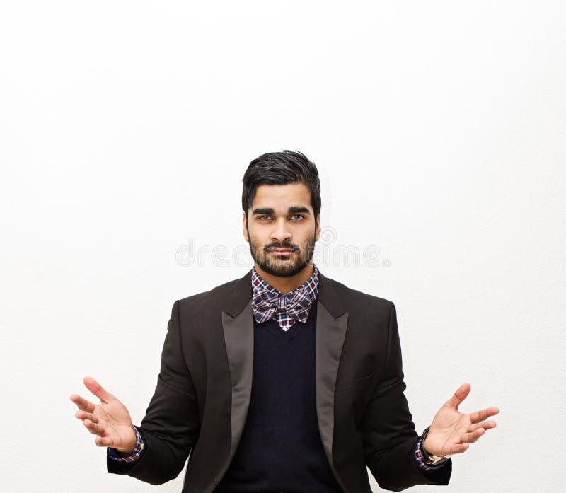 Красивый бизнесмен стоковые изображения rf
