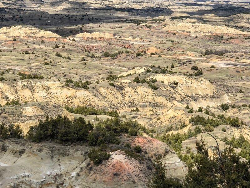 Красивый вид гор на национальном парке стоковое фото