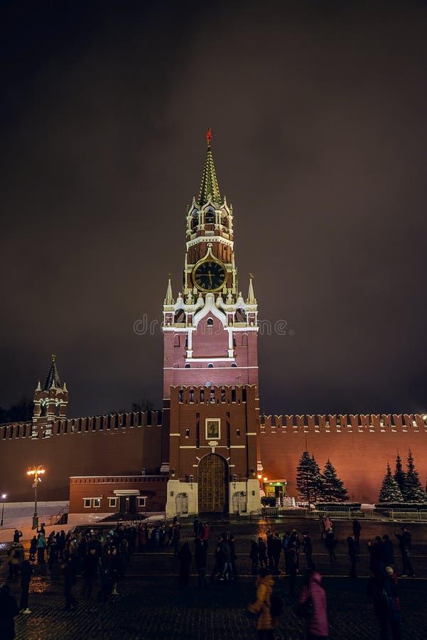 Красивый вид Кремля, красная площадь стоковые фотографии rf