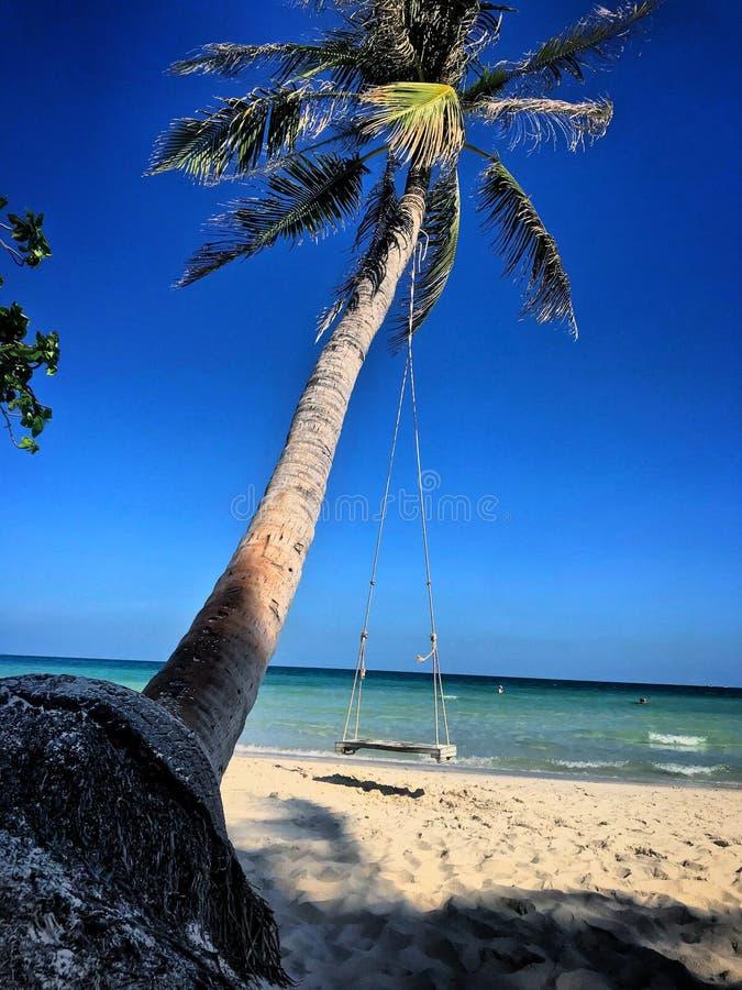 Красивый вид пляжа стоковое изображение