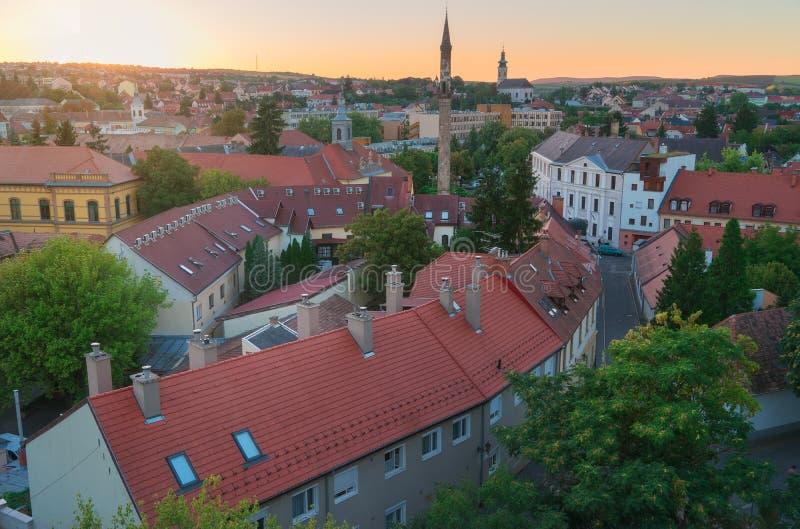 Красивый винодельческий регион Eger в Венгрии стоковое фото