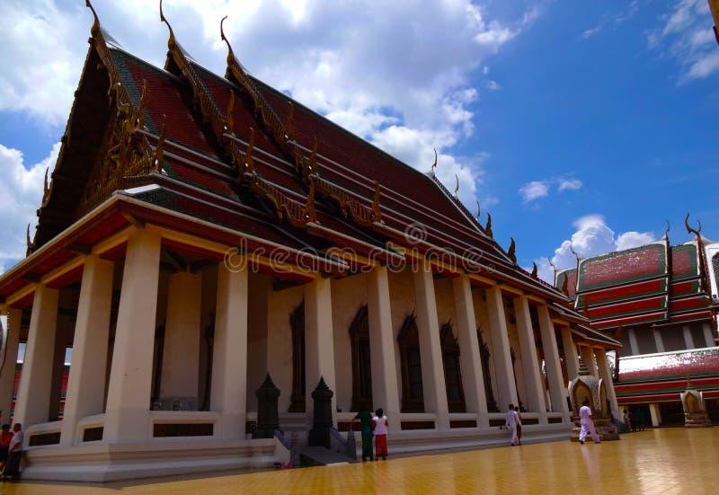 Красивый висок Бангкока стоковые изображения rf