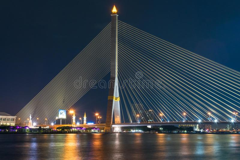Красивый вид моста стоковые фото