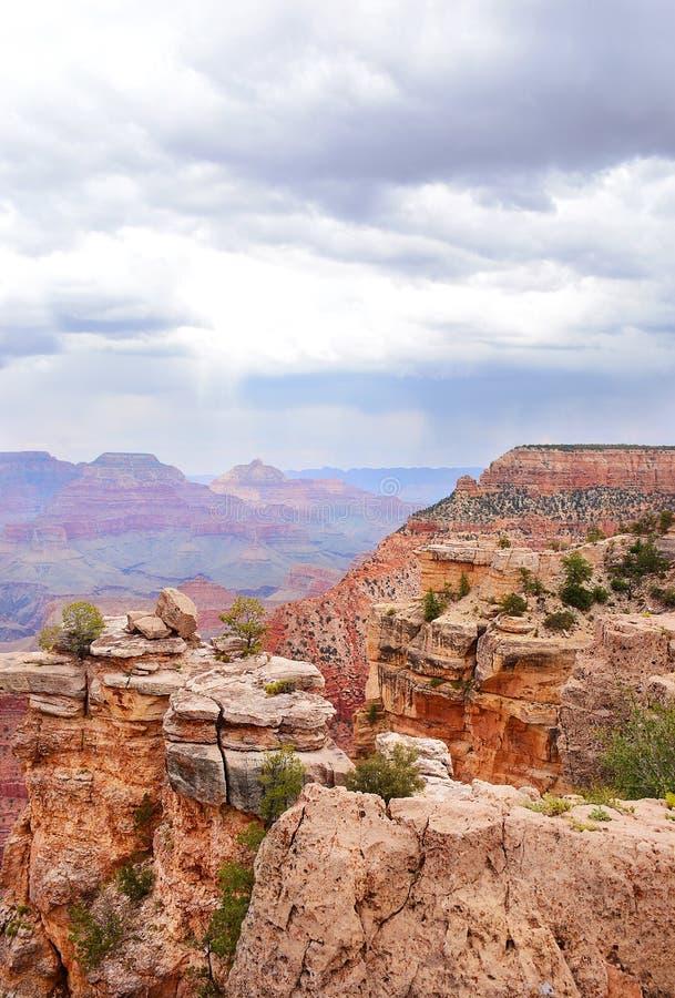 Красивый вид национального парка гранд-каньона стоковые фотографии rf