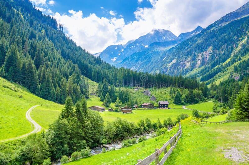 Красивый высокогорный ландшафт, Европа стоковые изображения