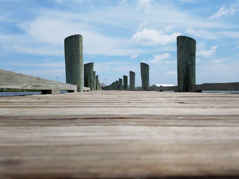 Красивый день на пляже стоковое изображение