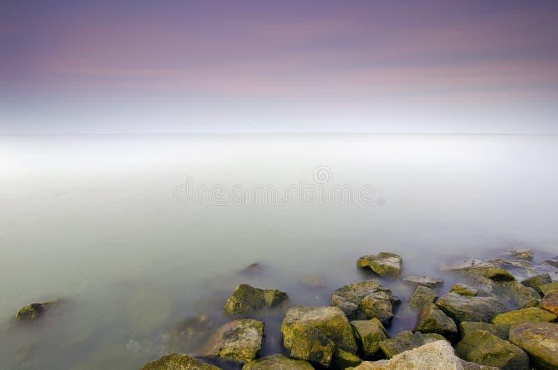 Download Красивый заход солнца пастельного цвета в острове Mabul Стоковое Фото - изображение насчитывающей bluets, сценарно: 40576886