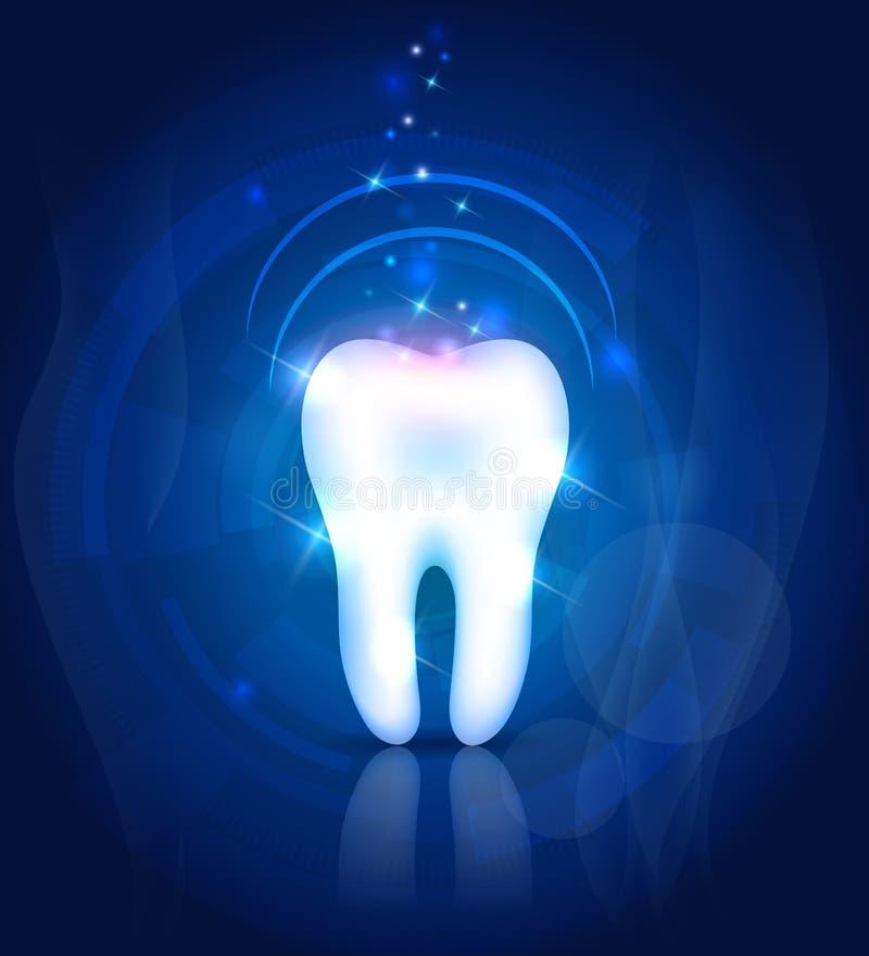 Красивый зуб бесплатная иллюстрация