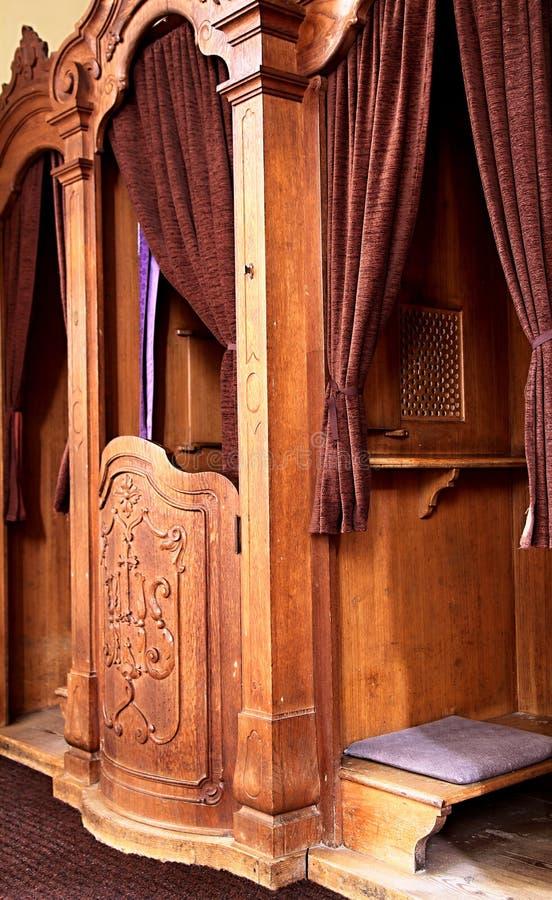 Красивый интерьер церков стоковые изображения rf