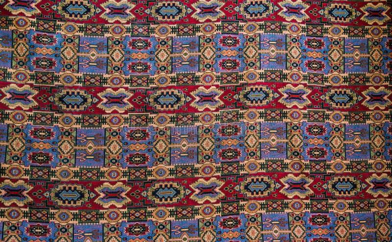 Красивый и красочный handmade персидский ковер стоковое изображение rf