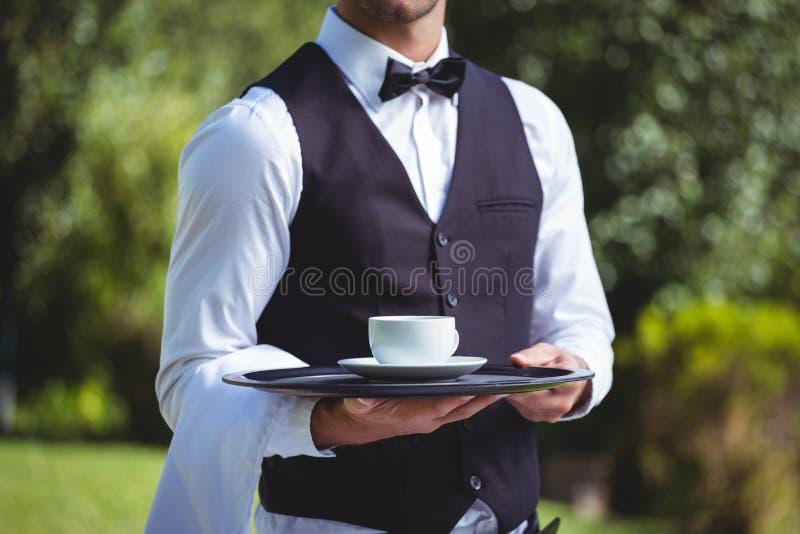 будем против, картинка официант с чаем ворота
