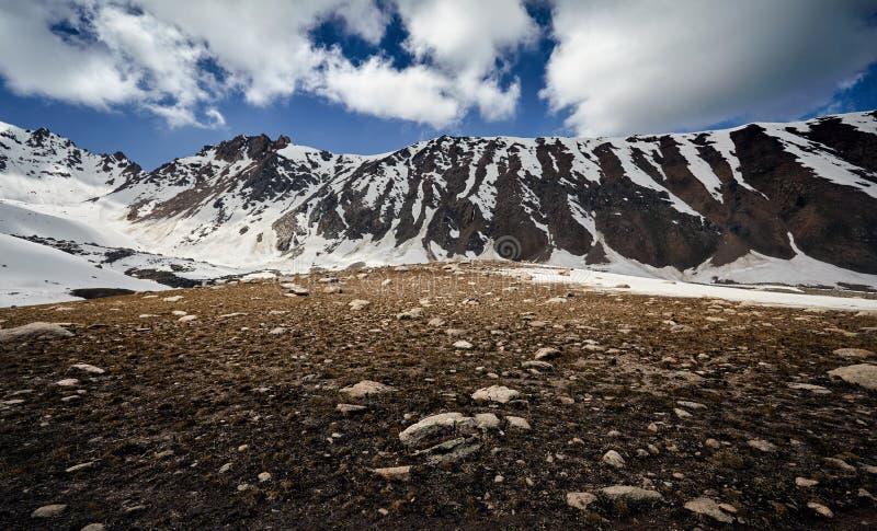 Красивый ландшафт гор стоковое фото