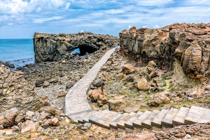 Красивый ландшафт пещеры кита стоковые изображения