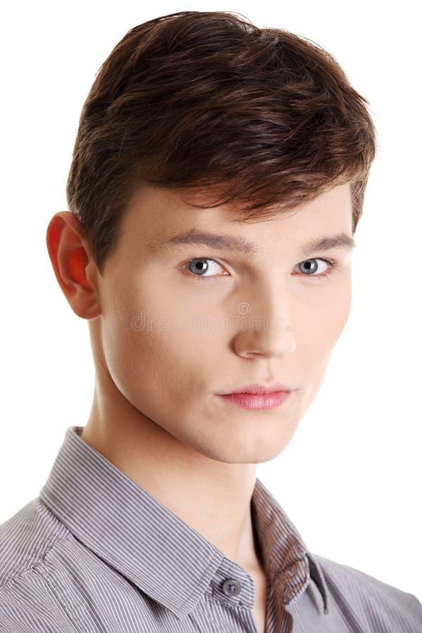Красивый молодой человек. стоковые изображения