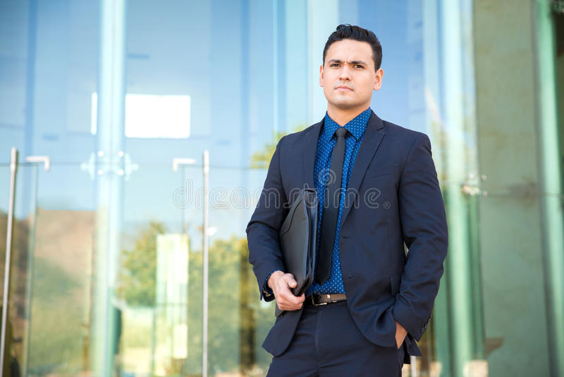Красивый молодой юрист стоковые изображения rf