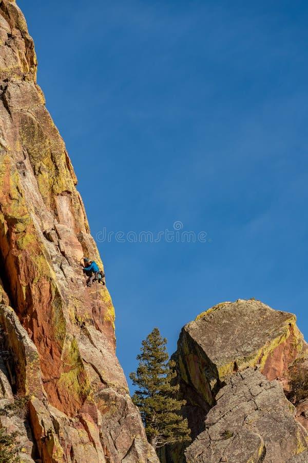 Красивый парк штата Колорадо каньона Eldorado стоковое фото rf