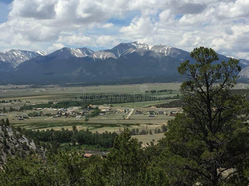 Красивый пейзаж Колорадо стоковая фотография rf