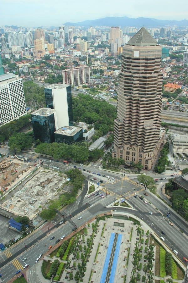 Красивый пейзаж Куалаа-Лумпур, Малайзии стоковое изображение rf