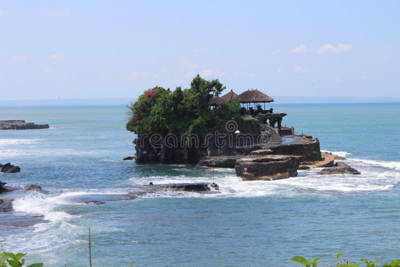 Красивый пляж в balinesia стоковые изображения rf
