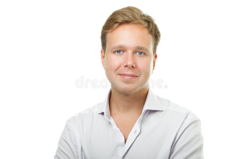 красивый портрет человека стоковая фотография rf