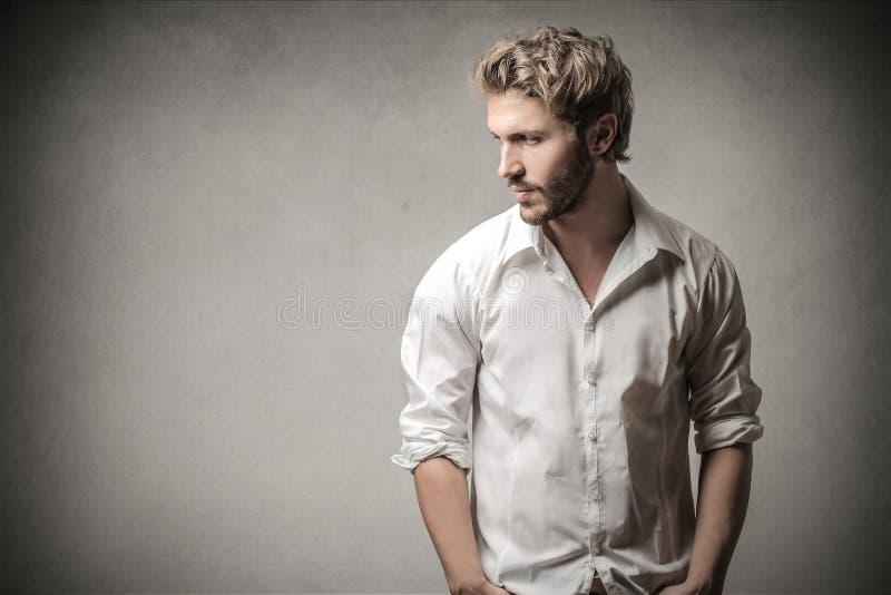 красивый представлять человека стоковое фото rf