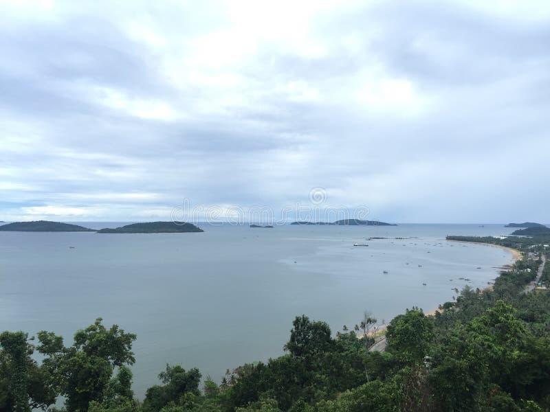 Красивый пляж Таиланда стоковое изображение rf