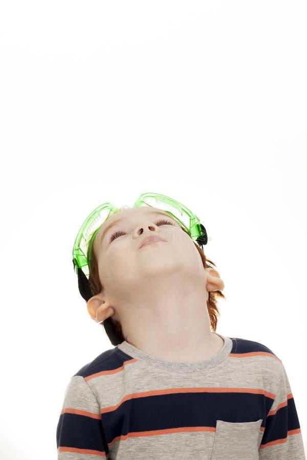 Красивый рыжеволосый мальчик стоковые изображения rf