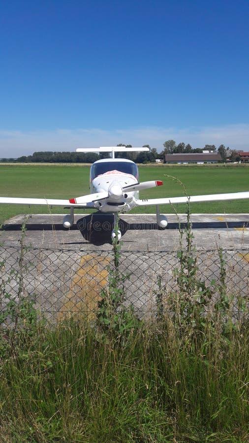 Красивый самолет стоковое изображение rf