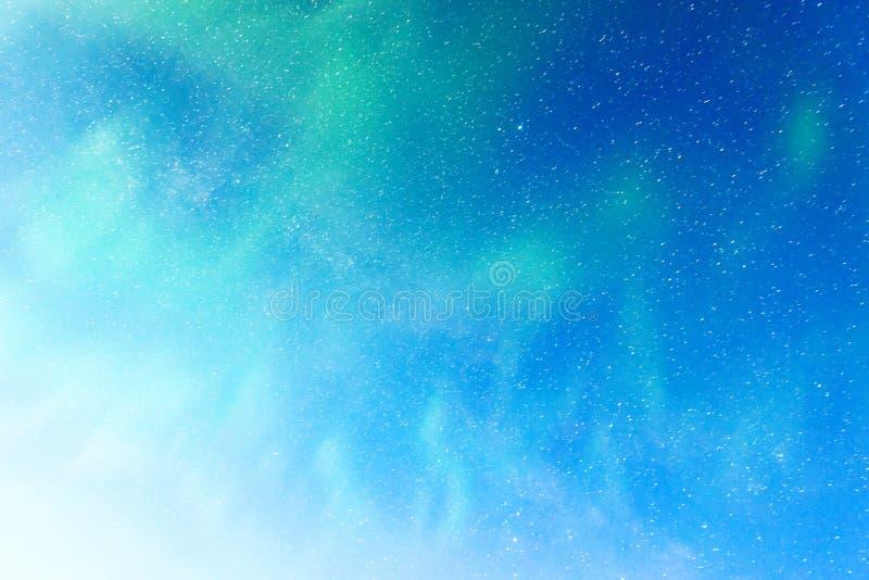 Красивый северный свет стоковые фото