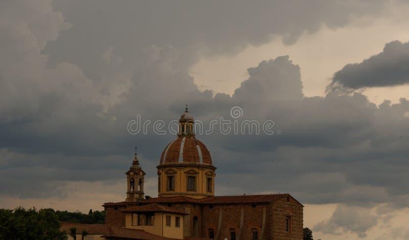 красивый собор Флоренса Италия Тоскана стоковая фотография