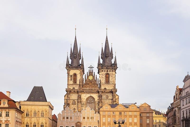 Красивый старый город Праги стоковое изображение