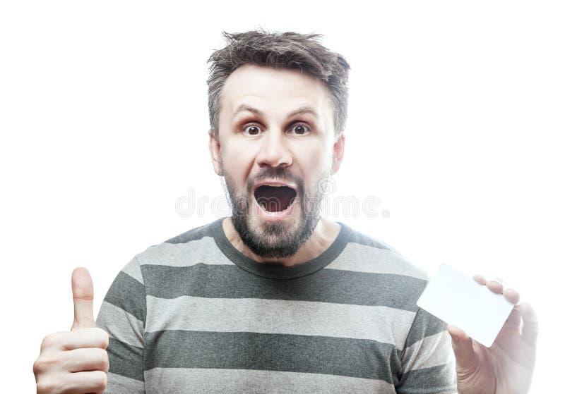 Красивый человек в сером striped блейзере изолированном с путем клиппирования стоковое изображение rf