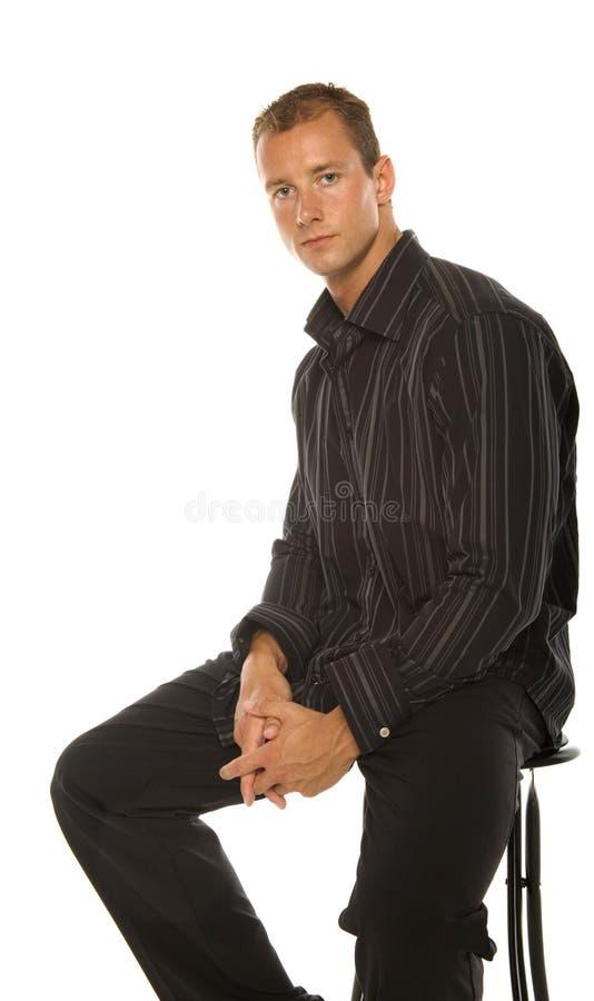 красивый человек стоковые изображения rf