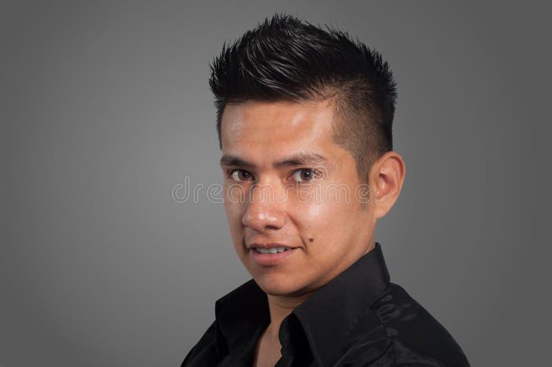 Красивый человек латиноамериканца стоковая фотография rf