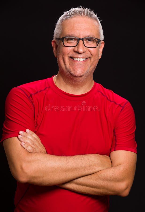 Красивый человек стоковое изображение rf