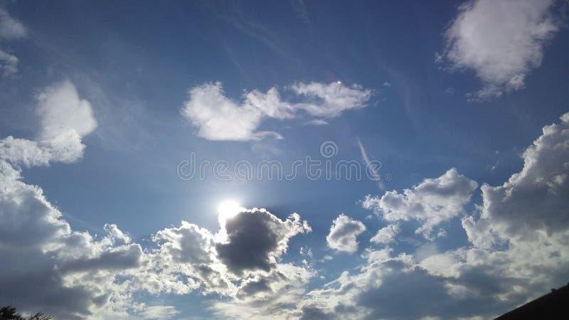 Красивый Pic неба стоковая фотография rf