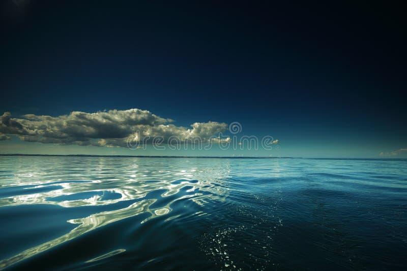 Красивый seascape. Естественный состав природы стоковое изображение rf