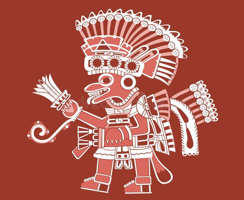 красить teotihuacan бесплатная иллюстрация