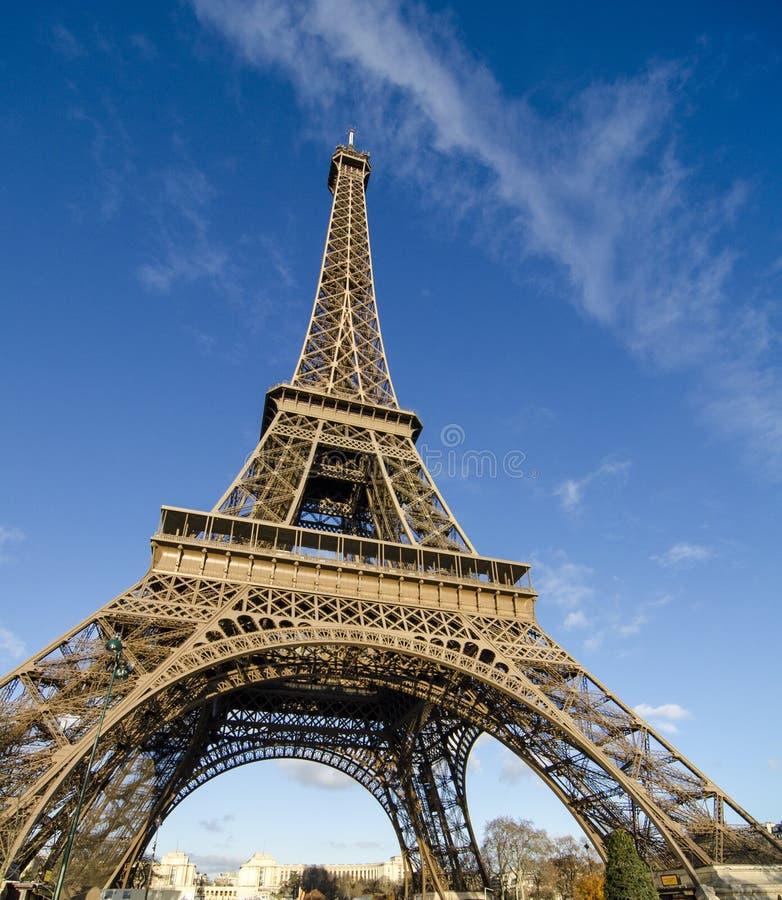 красит башню eiffel paris стоковая фотография rf