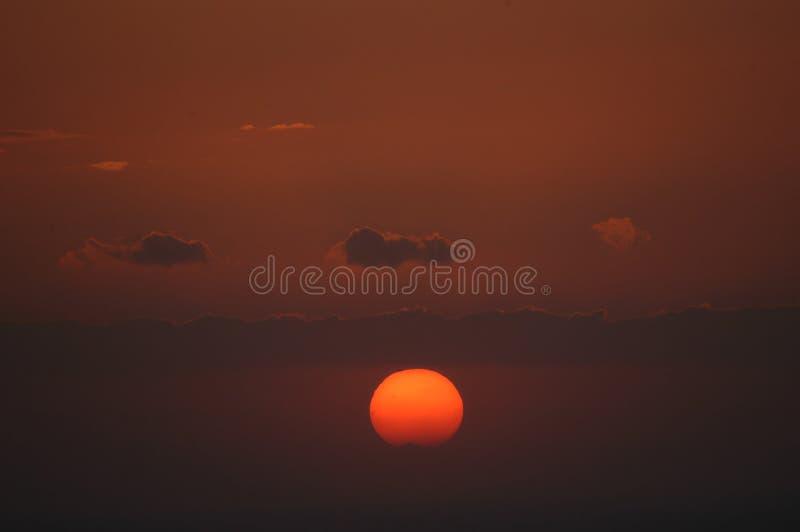 красит небо Стоковая Фотография RF