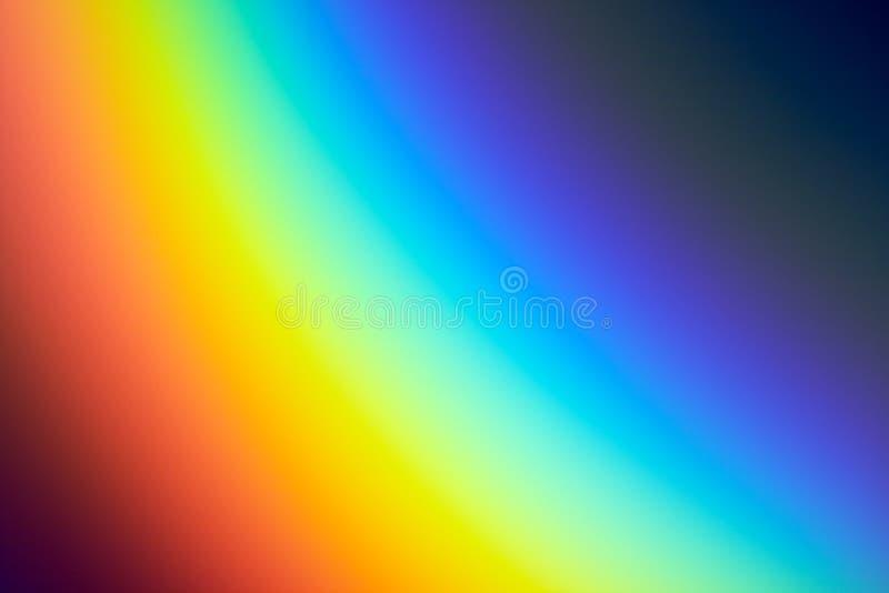 красит радугу иллюстрация штока