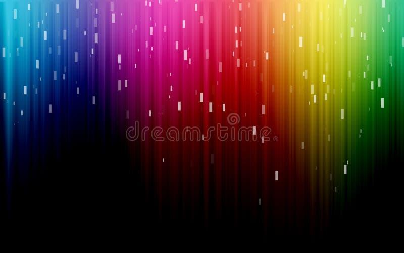 красит спектр радуги стоковое фото